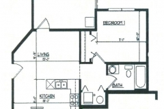 1bedroomfloorplan 1 Bedroom Floor Plan