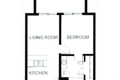 The villas 1 bed 1 bed center